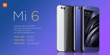 Introducing the awesome Mi 6!