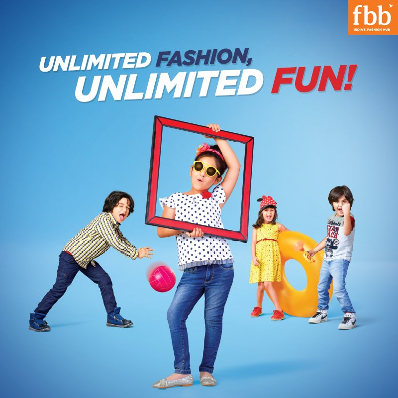 Kids Wala fbb - The Widest Range of Kidswear