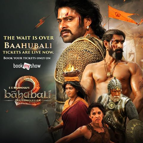 Baahubali 2: The Conclusion Coupon April -Bookmyshow,Paytm