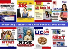 Online competitive exam books coupons, competition exam books in Hindi, competitive exam books