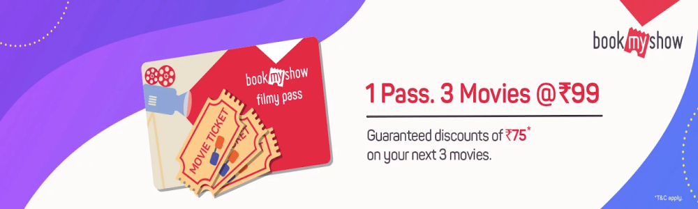 BookMyShow Filmy Pass Offer