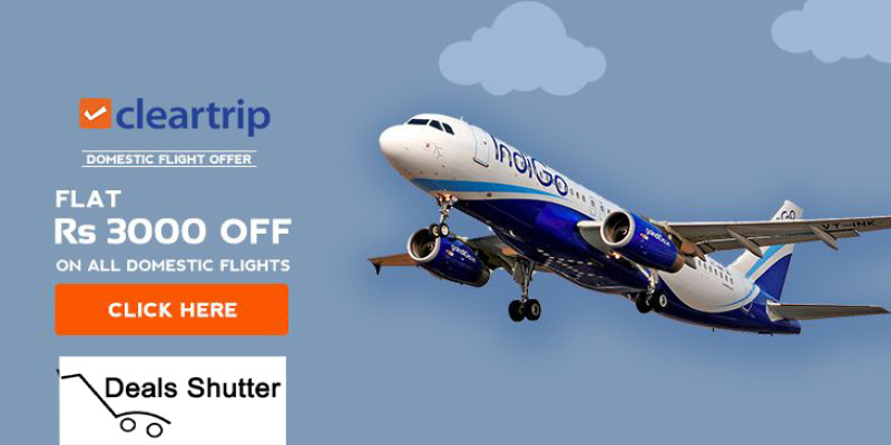 Cleartrip Flight Offers