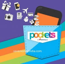 Get Flat Rs.100 off on BookMyShow Pockets App Offer.