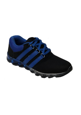 Amazing Deal: Molessi Black Blue Sports Shoes
