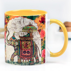 ROYAL ELEPHANT CERAMIC MUG - Archies
