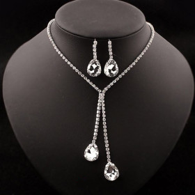 Buy Crystal Jewellery Set At Just Rs 399