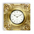Save 40% On Antique Brass Engraved  Wall Clock