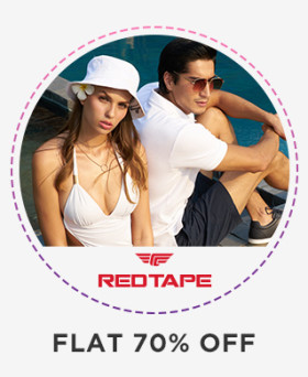 Summers Special Offer: Flat 70% Off On Footwears @Redtape