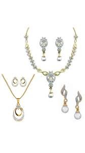 Get 95% Off On Dg Jewels Collection Of 1 Necklance, 1 Pendant & 1 Pair Of Earring