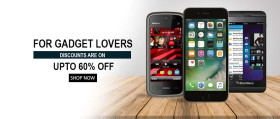 Gadget Sale: Upto 60% Off On Mobiles