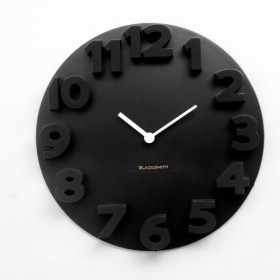 Avail 50% OFF On 3D Wall Clock - Black