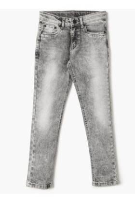 Lifestyle's Offer-  Bossini Acid Wash 5-Pocket Jeans at Up to 50% Off