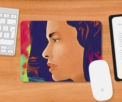 Flat 50% Off At Smooth Fabric Mousepads