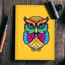 Buy Colourful Owl Notebooks At 33% Off