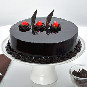 Flat 21% Off On Chocolate Truffle Cream Cake At Ferns N petals