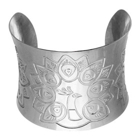 Flat 50% Off On Stainless Steel Cuff Bracelet