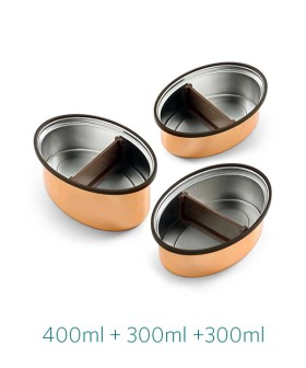 Vaya Set of 3 Tiffin Containers For Just Rs.1045