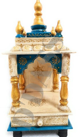 Flat 73% Off On D 'Dass Wooden Home Temple
