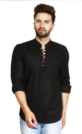 Flat Upto 72% Off On Men's Solid Straight Kurta