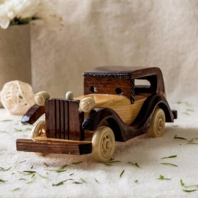 Flat 30% Off + 10% Cashback Using Pay Via Paytm On Wooden Car
