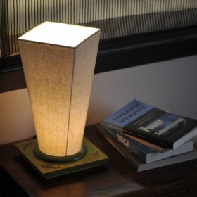 Grab 23% Off + 10% Cashback Using Pay Via Paytm On Wooden Table Lamp