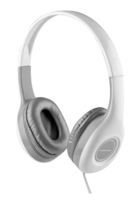 Ambrane Ultra Comfortable Wired Headphone HP-10 With Mic(White) For Only Rs 474/-