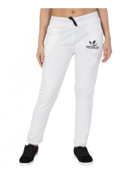 Get 55% OFF On American Polyester White Track Pants