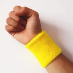 Buy Hand Band Cotton Fiber Sports Wrist Support At Just Re 1/-
