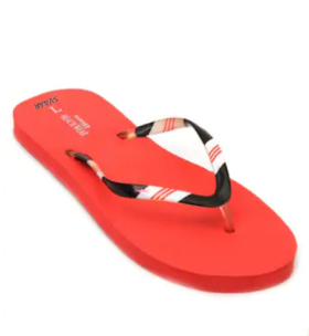 Svaar Imported Red Women FlipFlop @ 70% Off