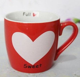 Get 46% OFF On Hearty Red Mug At Giftalove