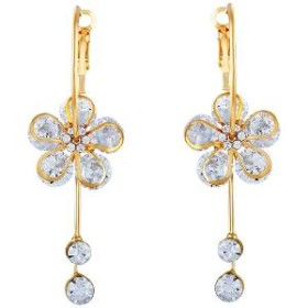 Enjoy Flat 75% OFF On Gold Finish Earrings @HomeShop18