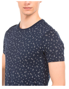 Flat 50% Off On Flying Machine Printed Regular Fit Tee