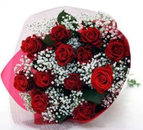 Purchase Romantic Rose Bouquet @Rs 599/-