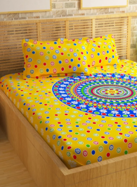 Purchase Double Bed Bedsheets Under Rs 699/-
