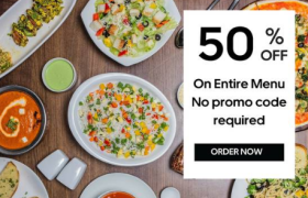 Uber Eats Special: Get 50% Off On Entire Food