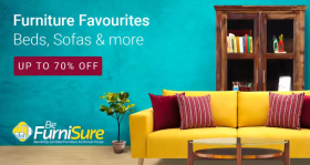Get Upto 70% OFF On Furniture