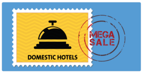 30% Cashback (Max. Rs 3,000) on Domestic Hotels!