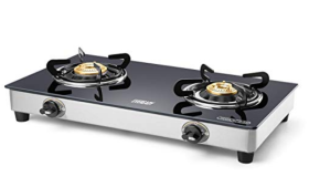 Flat 62% Off On Eveready 2 Burner Glass Stove