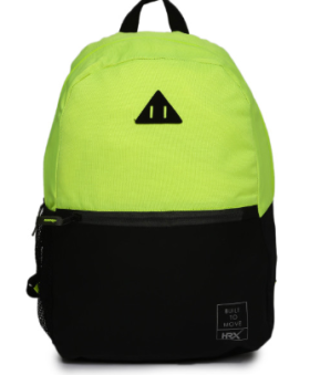 Get 40% OFF On HRX Colorblocked Bagpack