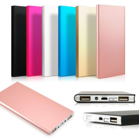 Get 63% OFF on Ultra Thin 20000mAh Power Bank for Mobiles