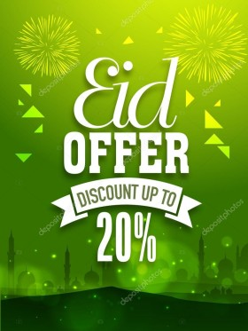 Get 20% OFF on Food, Fashion, Gifts at Eid Store