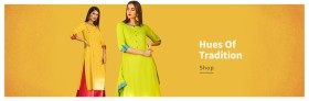 Tint of Traditional at Reliance Trends Women Clothes