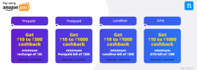 Amazon Pay Offer: Get 15% Cashback Upto Rs. 1000 On Bill Payments