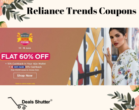 Trends Shopping Festival: Get Flat 60% Discount + 10% HDFC Cashback