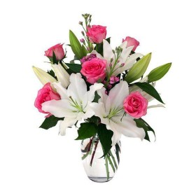 Express Your Love With Best Lilies in a Vase At 899