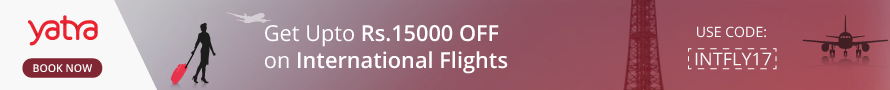 Get Up to Rs. 15000 Off on International Flights