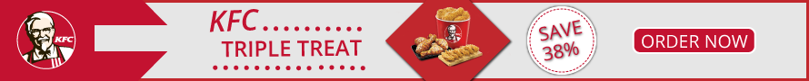 Save 38% on KFC Triple Treat