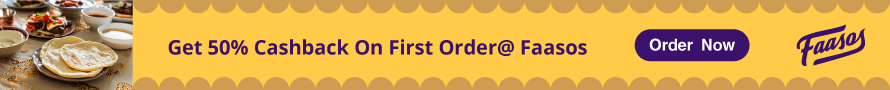 Get 50% Off on First Order @Faasos